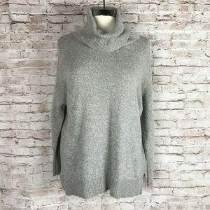 Joie Grey Turtleneck Sweater